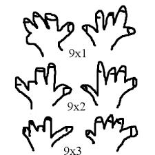 目からウロコ!かけ算九九の【9の段】を簡単に覚える方法♪
