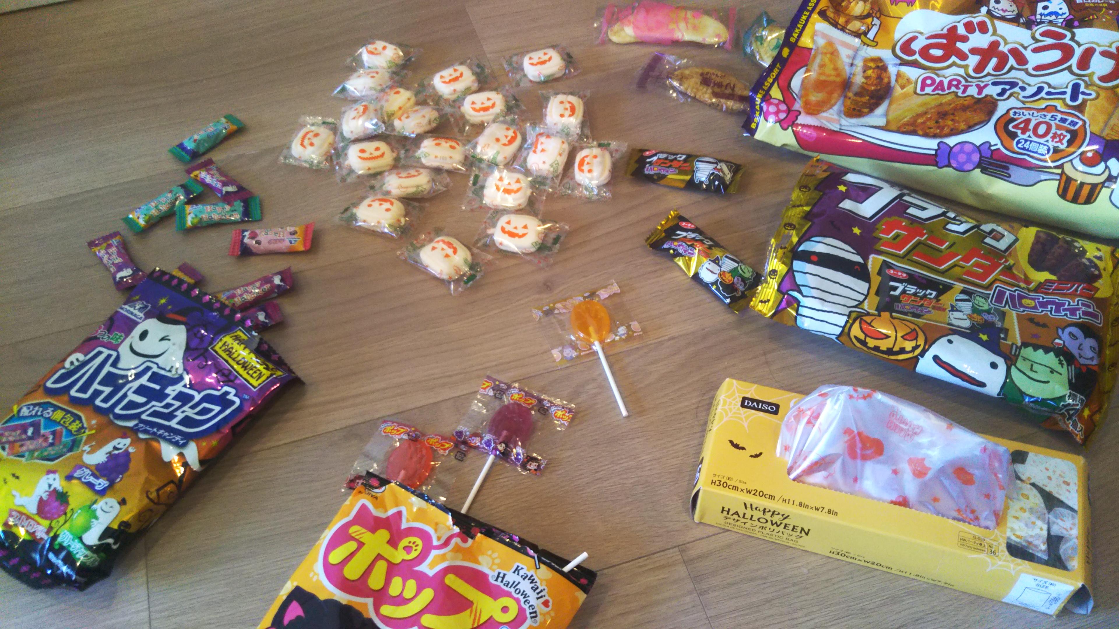 trick or treat!!…今日からプチおやつが貰えますよ♪