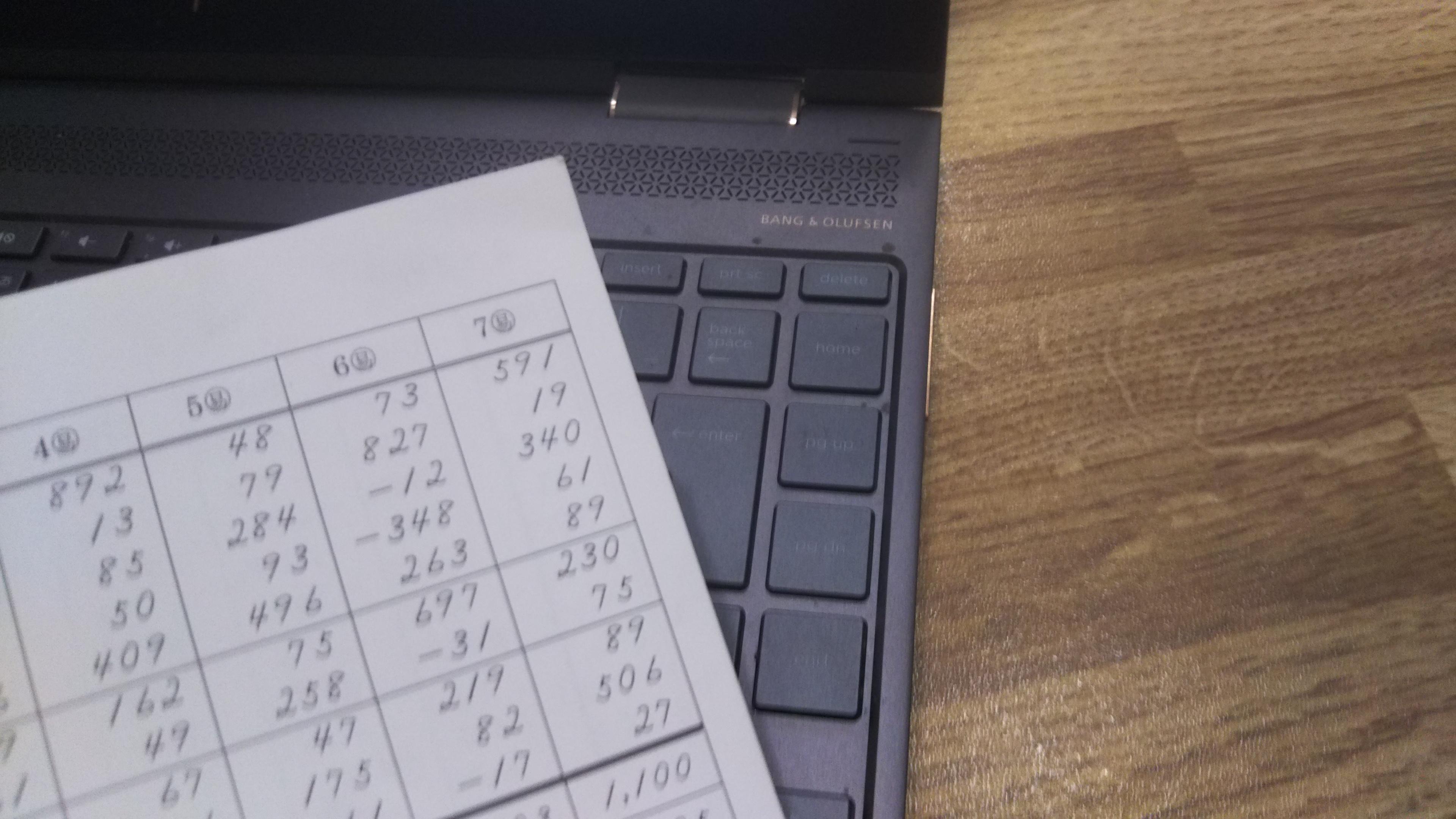 今月は読上算検定。最初の読上算6級って、どんなレベル?